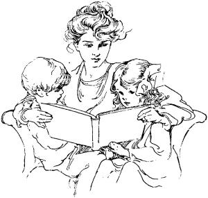 Dessin mère-enfants